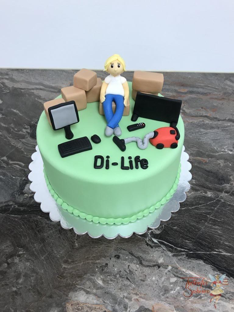 Geburtstagstorte Erwachsene - Di-life Mitarbeiterin feiert Geburtstag mit ihren Produkten