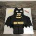 Geburtstagstorte Buben - Lego Batman zum Anbeißen, hier wurde der Lego Batman nachgebildet und verziert.