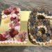 Geburtstagstorte Mädchen - Rosa und Schokobraune 16ten, Ein Number Cake mit vielen verschiedenen Süßigkeiten und Früchten in 2 Farben.