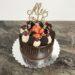 Geburtstagstorte Erwachsene - Süßer Drip Cake mit Cookies und Erdberren